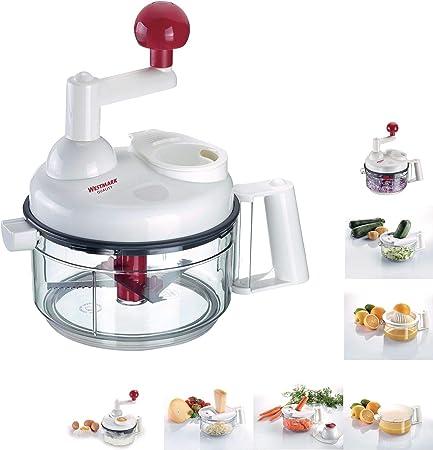 Compra Westmark 97142260 Robot de cocina, Gris/Blanco/Rojo en Amazon.es