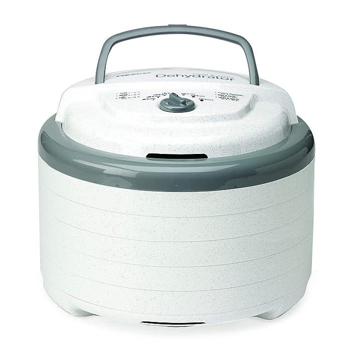 NESCO FD-75A, Snackmaster Pro Food Dehydrator, Gray (Renewed)