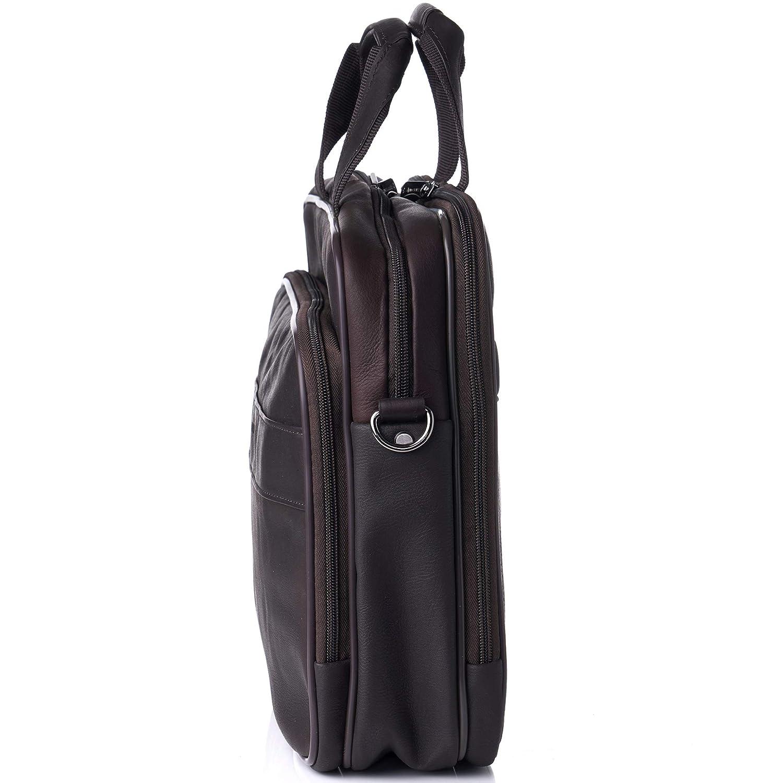 "c2dba5036 Clothing, Shoes & Jewelry Alpine Swiss Messenger Bag Colombian Leather 15.6""  Laptop Briefcase Portfolio By Alpine ..."