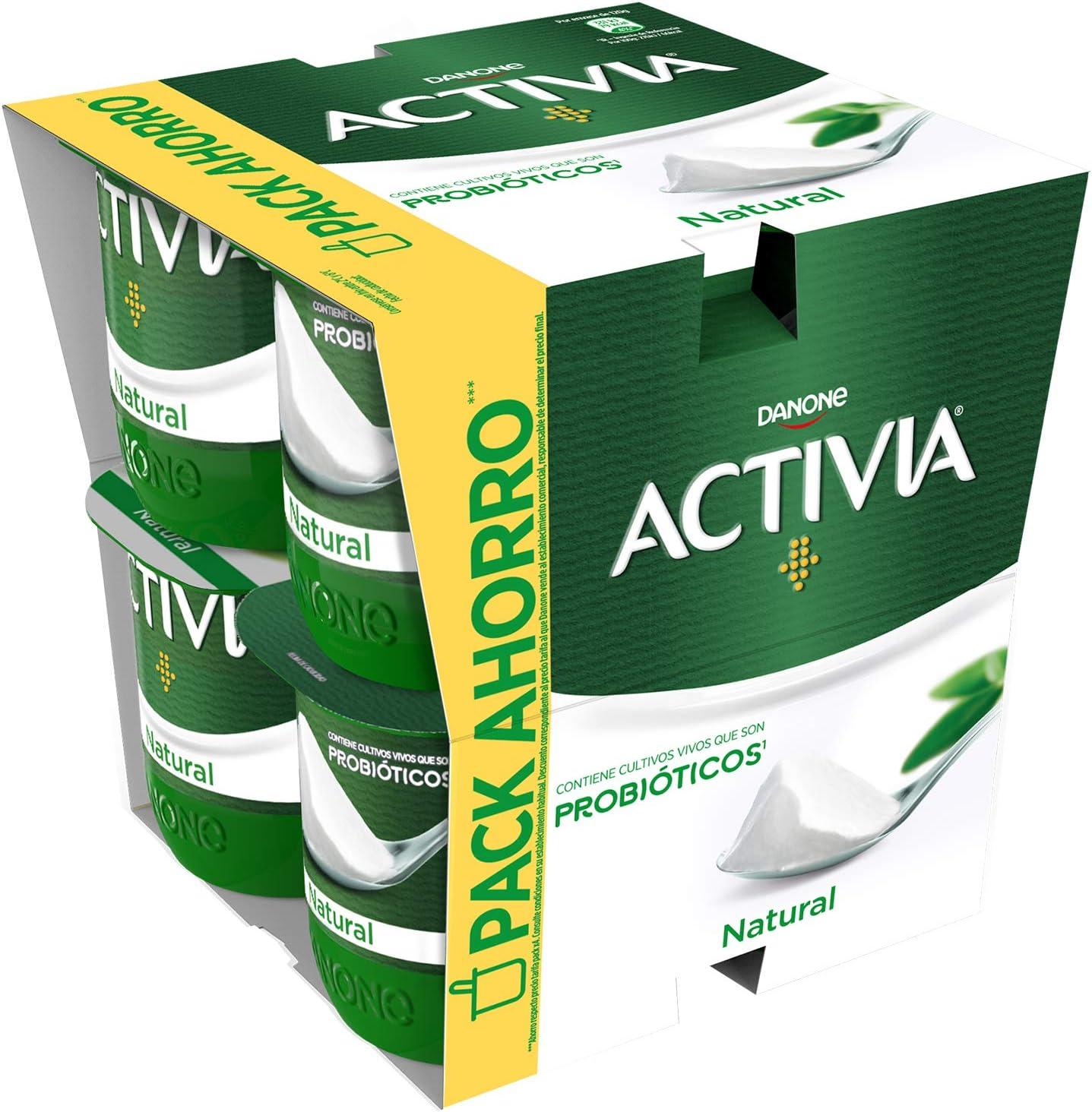 Activia Yogur Natural, 8 x 120g