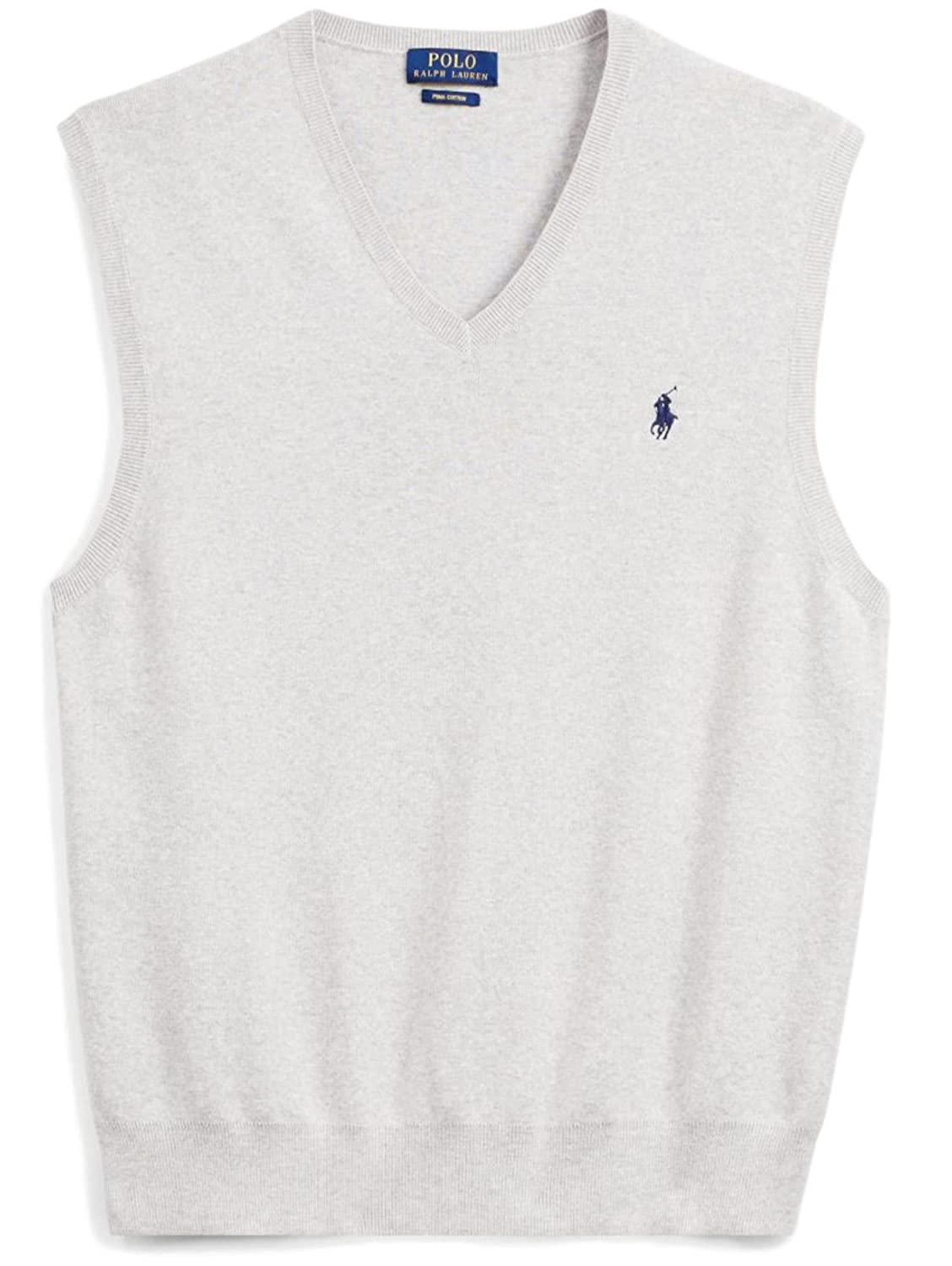 Polo Ralph Lauren Men's Pima Cotton Sweater Vest