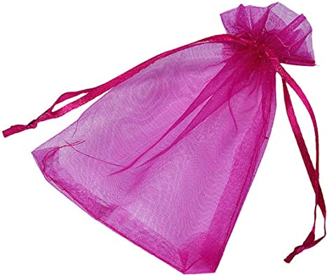 QUALITY Wedding Party Favor Gift Pouches Candy P1T4 Details about  /7Colors Organza Bag