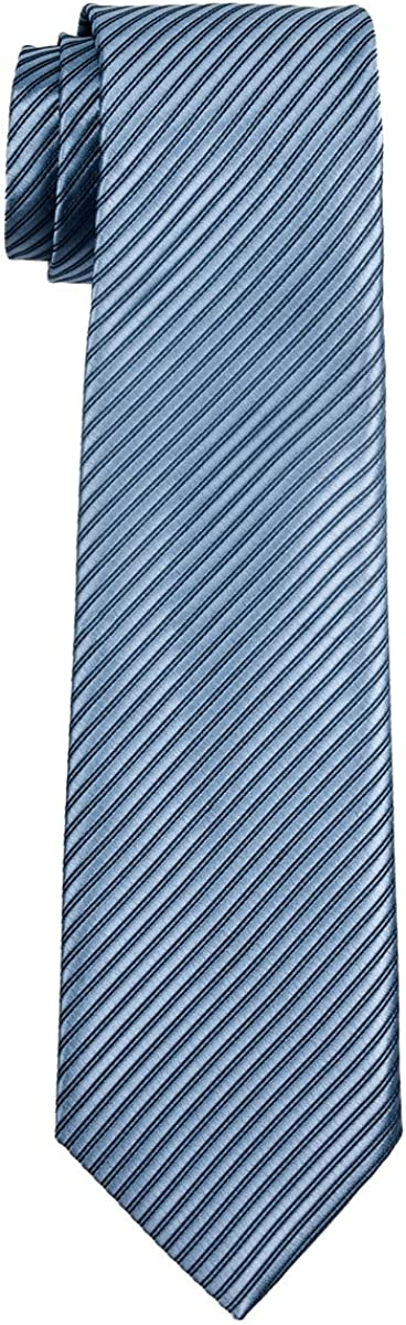 8-10 anni Retreez Cravatta per Bambino con Motivo a Righe Vari Colori
