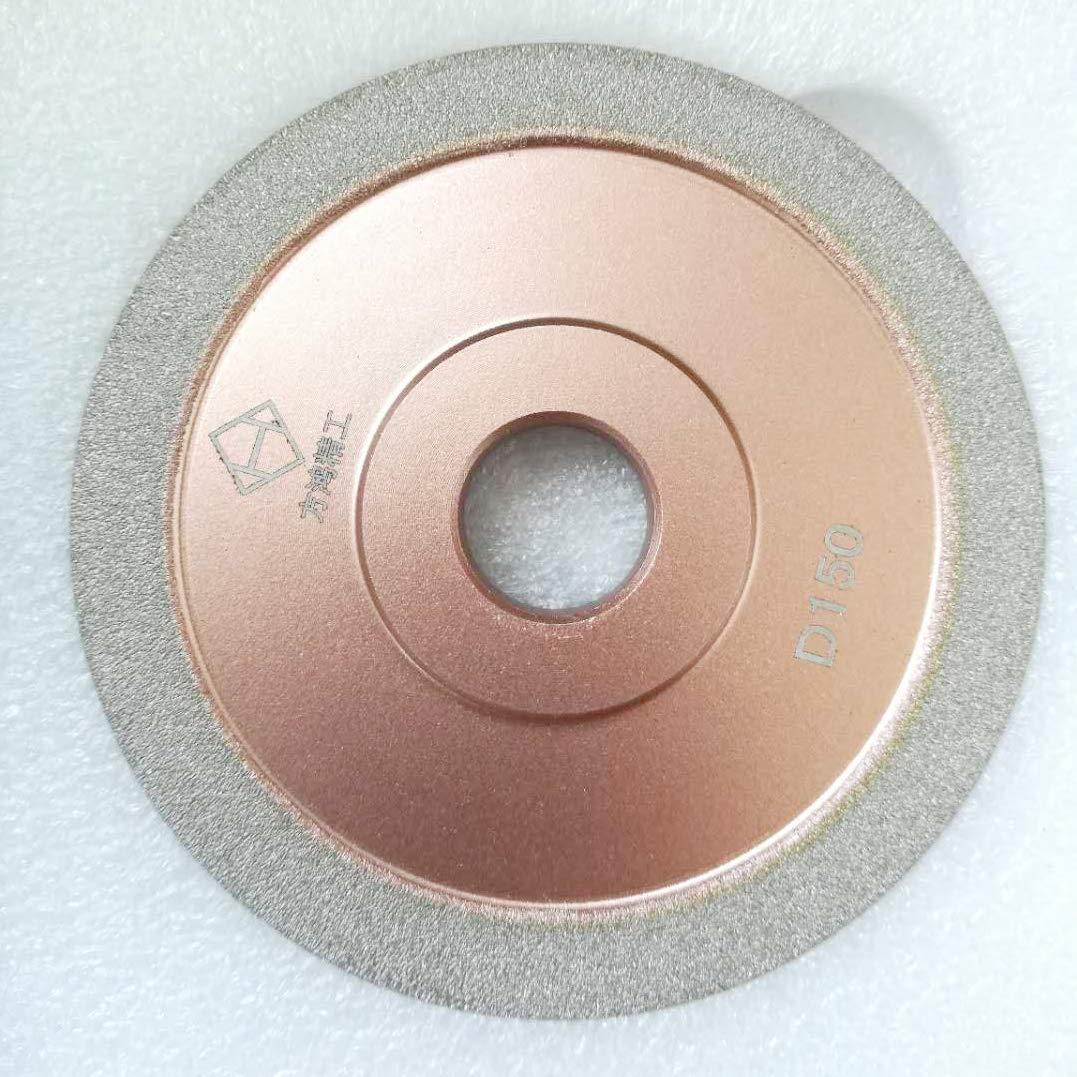 4-inch(100mm)Brazed Diamond Grinding Wheel Cutter Grinder Tool Diamond Coated Flat Wheel (200 Grit) by B.M Choice
