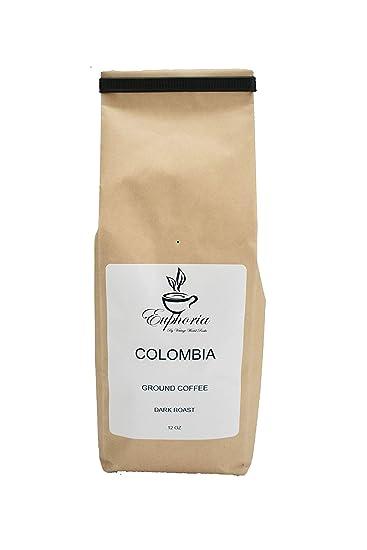 Amazon com : Colombia La Meseta, Handcrafted Specialty Grade, Dark