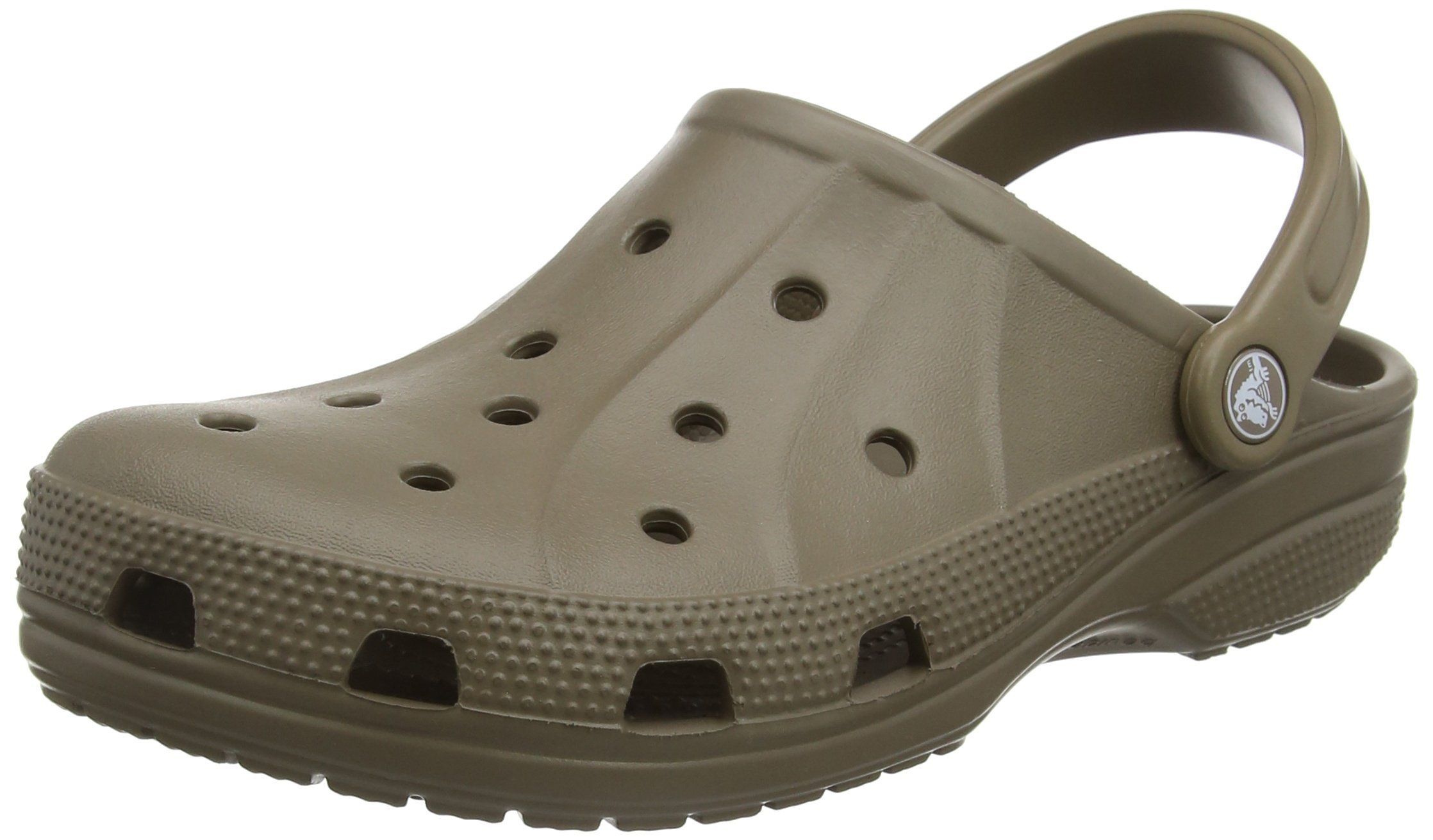 Crocs Ralen Clog Slingback Shoes, Walnut, Men's 8 US M/Women's 10 US M