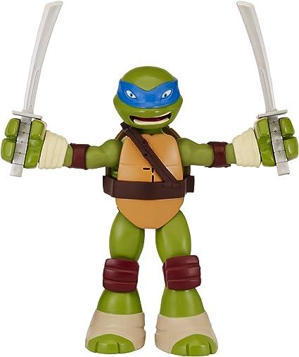 Toys 91421 Teenage Mutant Ninja Turtles Stretch N Shout Leonardo Figure Playmates