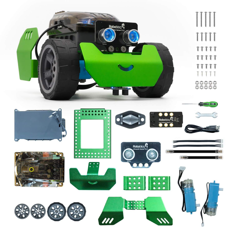 Robot Educativo para armar y programar en Arduino Robobloq b
