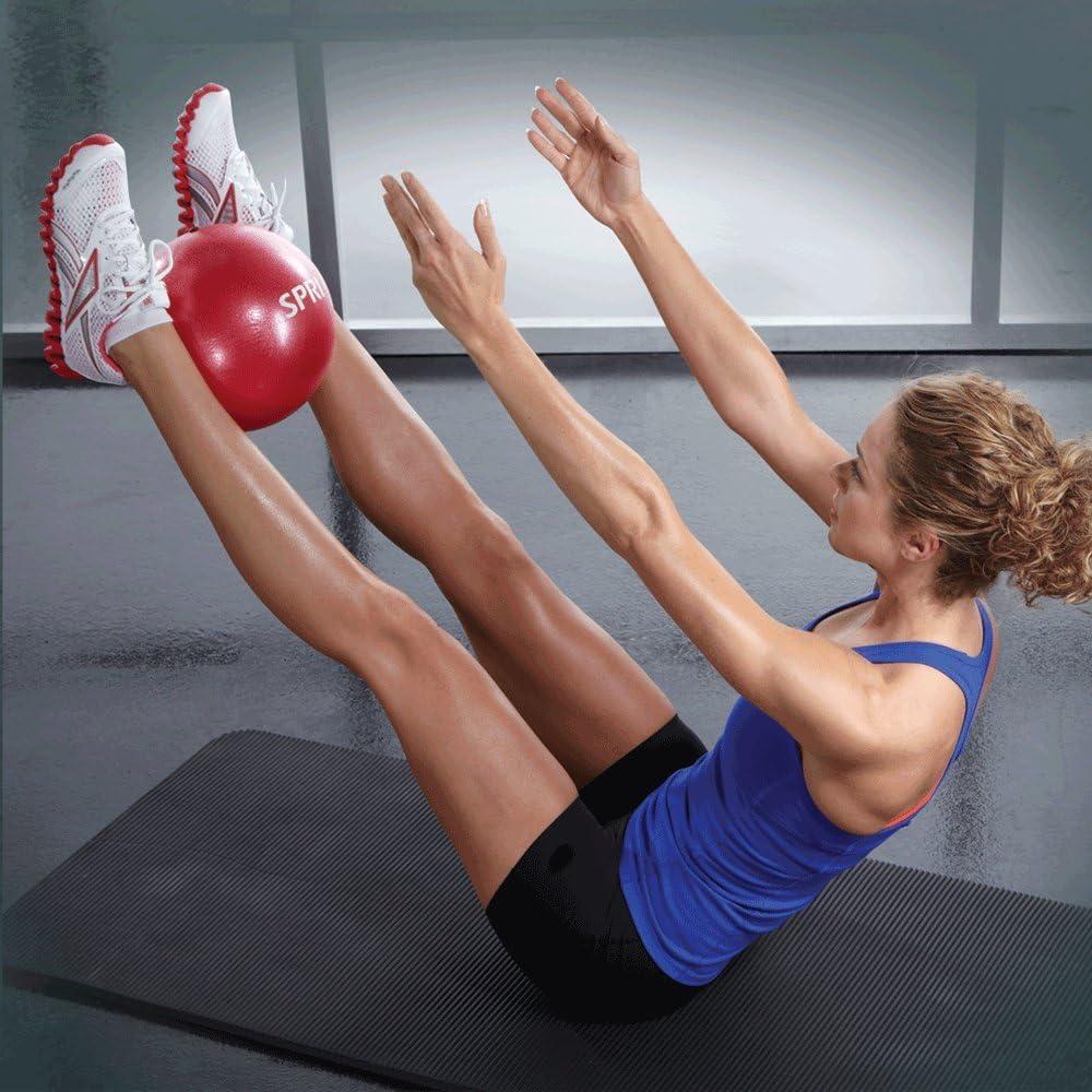 """Exercise Fitness Workout Spri Sponge Ball Red 8/"""" Soft /& light Red"""