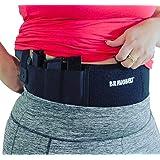 BRAVOBELT Belly Band Holster for Concealed Carry - Athletic Flex FIT for Running, Jogging, Hiking - Glock 17-43 Ruger S&W M&P