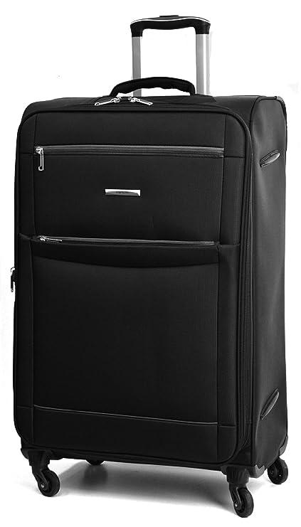 02f1b5535435 Super Lightweight 4 Wheel Spinner World Lightest Suitcases (Medium ...