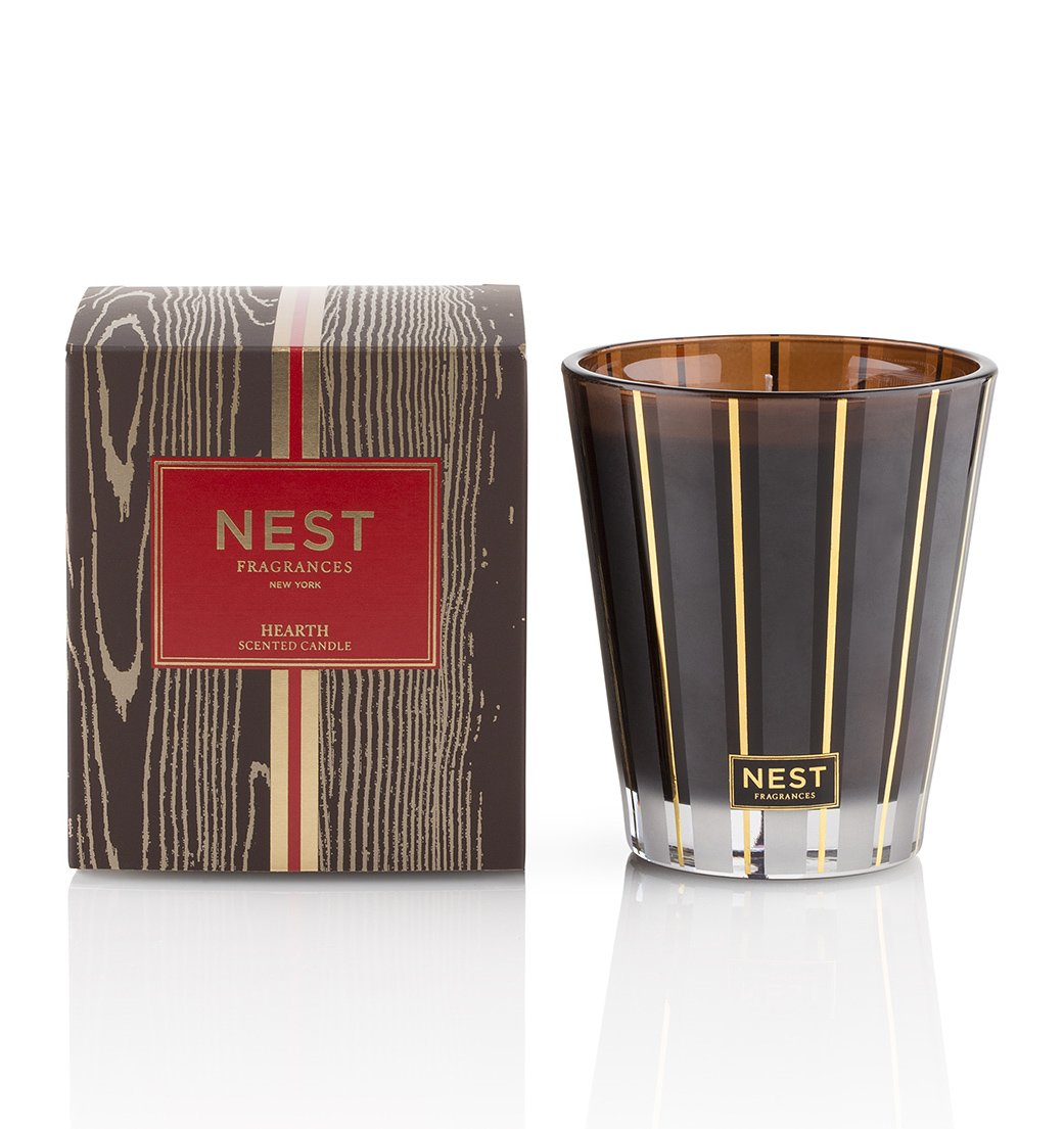 NEST Fragrances Classic Candle- Hearth, 8.1 oz
