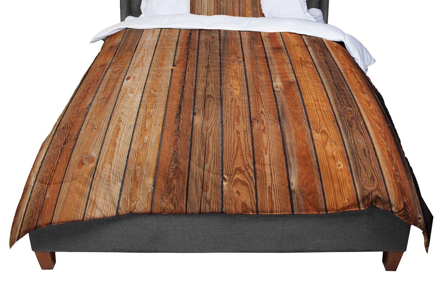 68 X 88 KESS InHouse Susan Sanders Aging Tree Wooden Twin Comforter