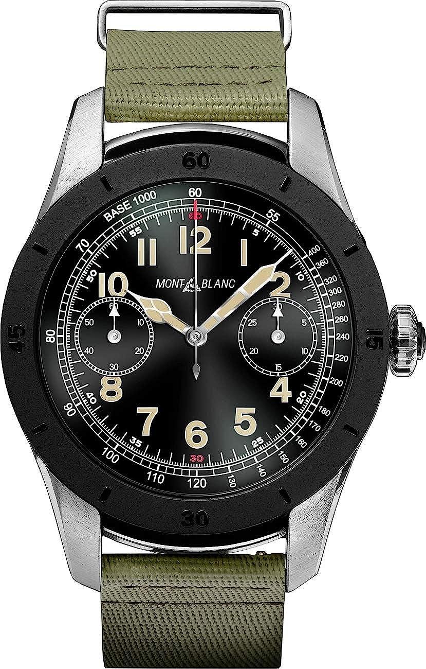 Montblanc Cumbre Smartwatch 117545 bicolor acero caso con ...