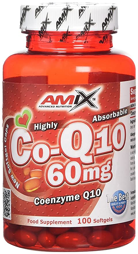 Amix 8594159533462, Coenzyme Q10 Vitaminas y Minerales, 42.47 gr