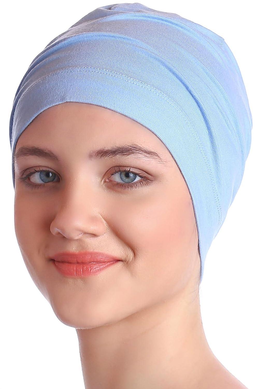 Deresina Headwear Unisex Cotton Sleep Caps for Cancer, Hair Loss | Sleep Cap for Chemo