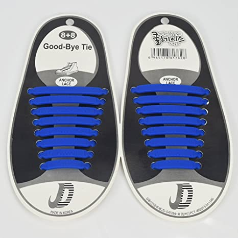 RENZE silicona no encaje de fijación para adultos y niños, lace-free encaje desgaste único para entrenadores zapatillas running zapatos deporte zapatos botas Casual, 16 piezas: Amazon.es: Bricolaje y herramientas