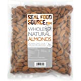 RealFoodSource Whole Natural Almonds (1kg)