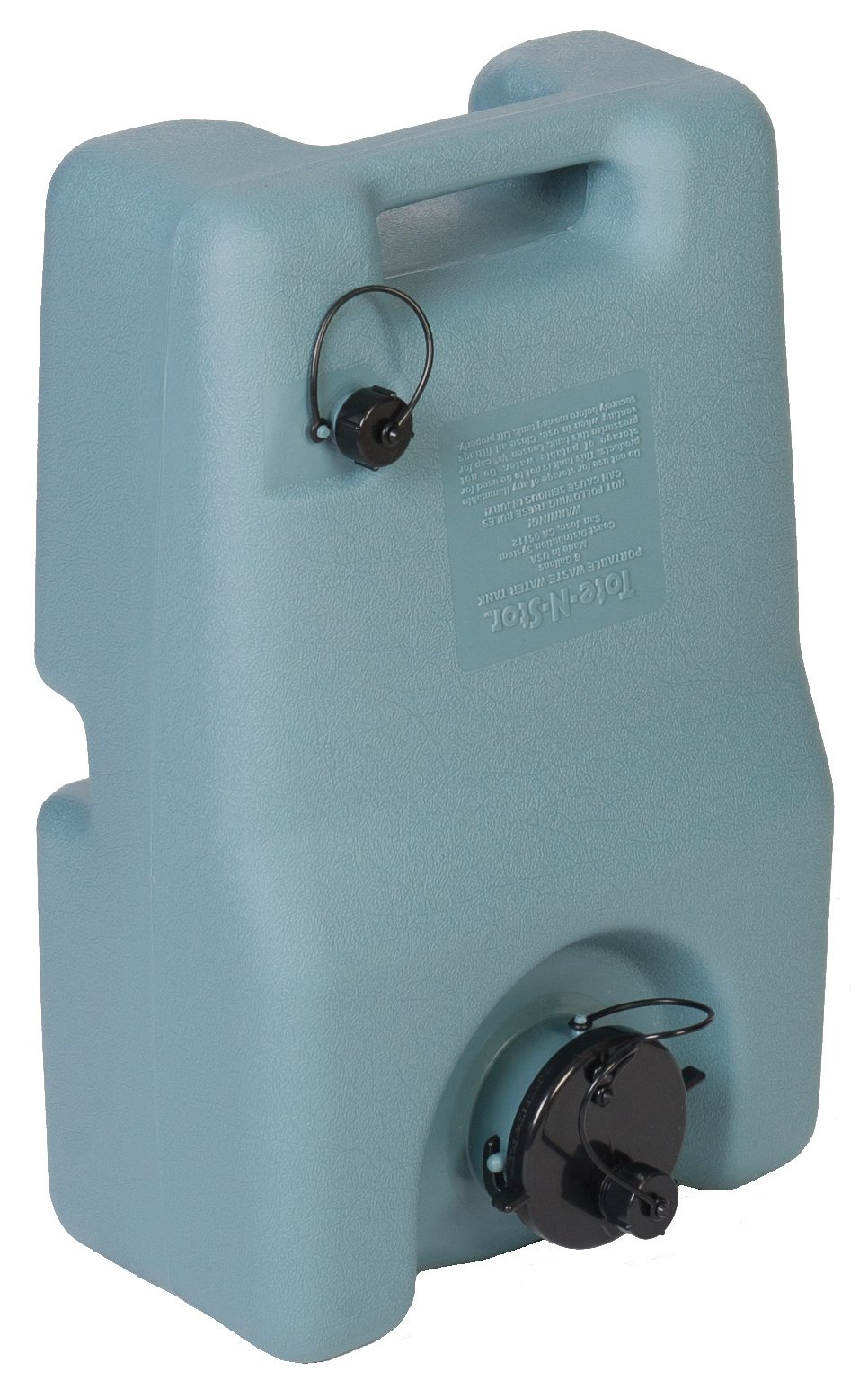 Tote-N-Stor 25951 Portable Waste Transport - 6 Gallon Capacity
