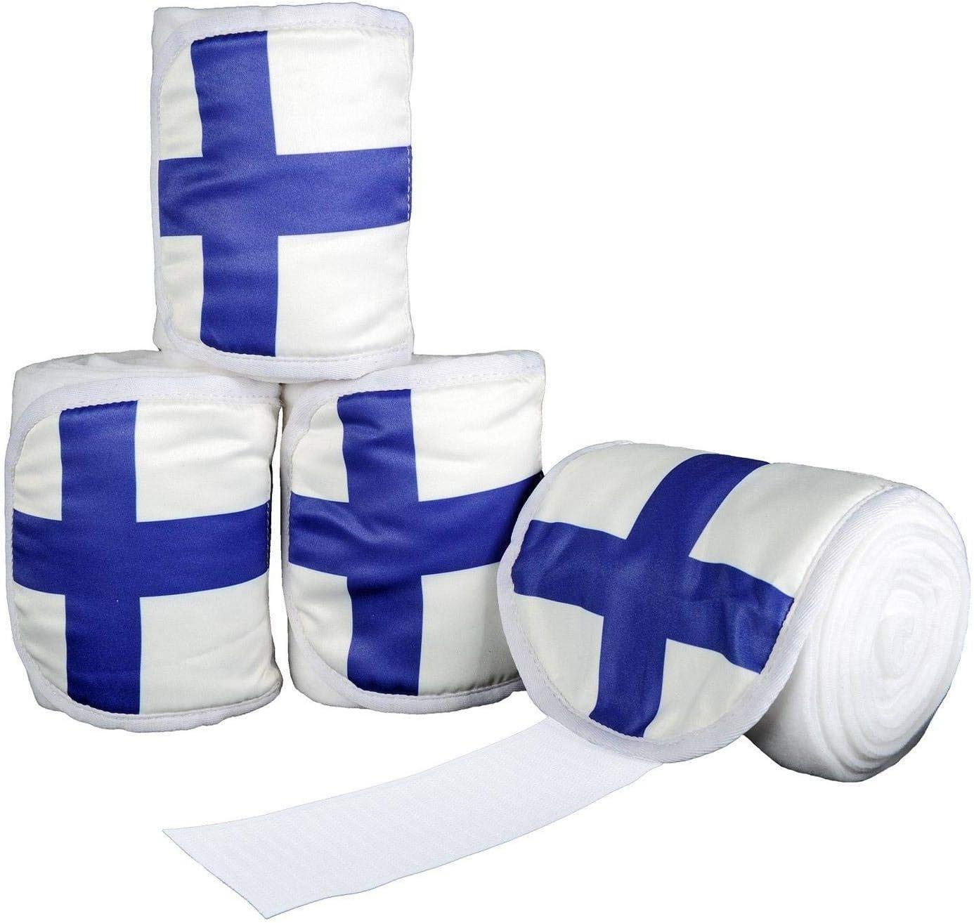 4/Unidades Hkm polarfleec Vendas Flags