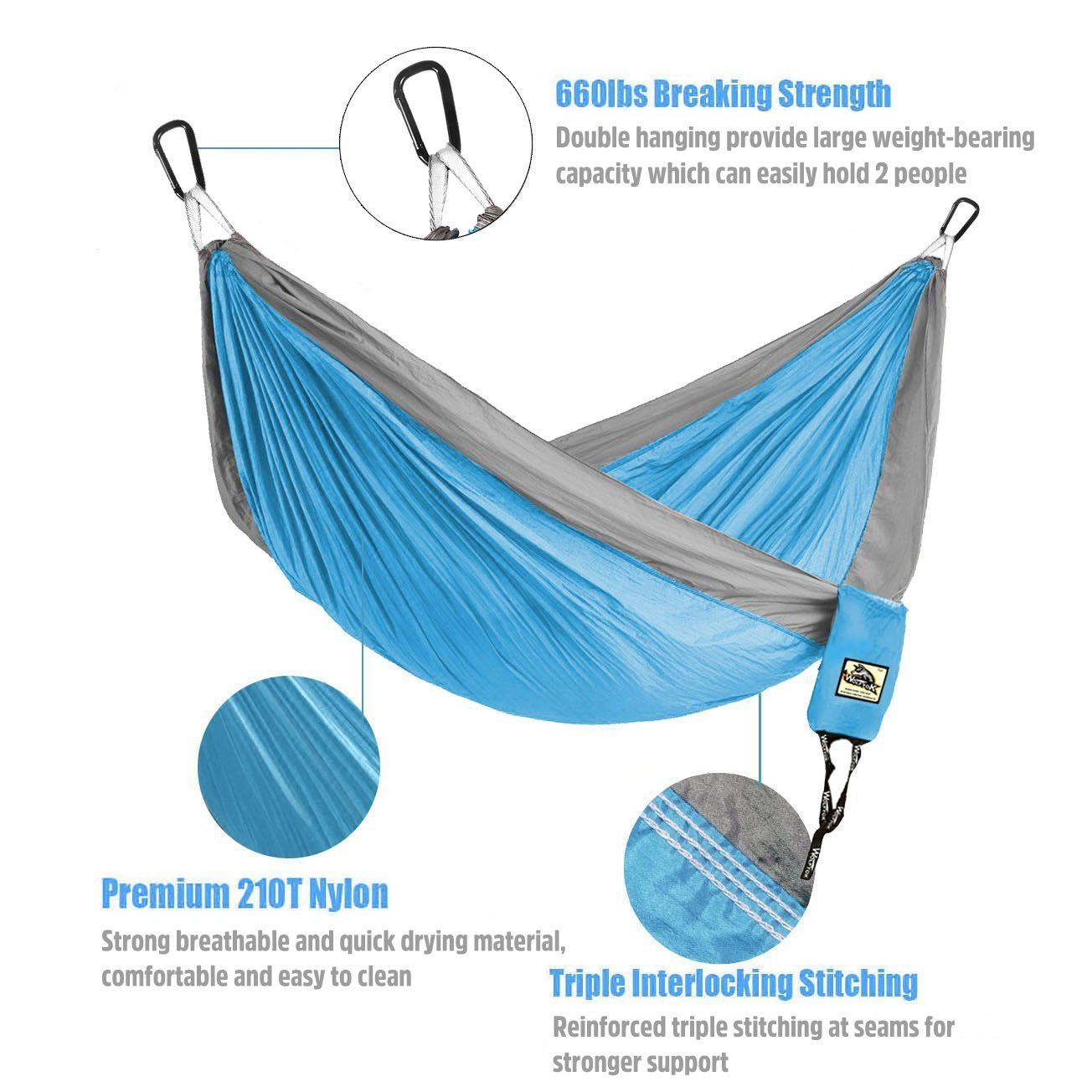 hammock with nylon dp parachute tree portable camping for outfitters straps com woot amazon double backpacking camtorp lightweight