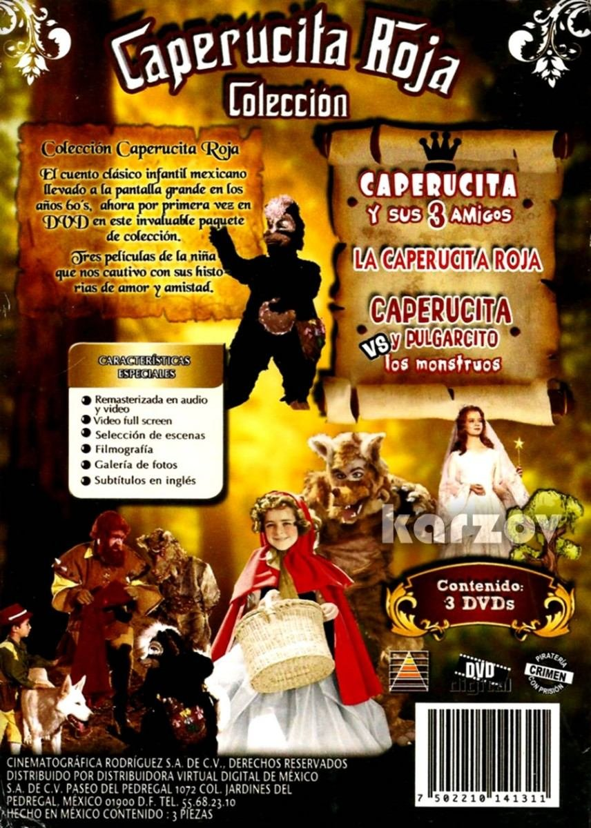 Amazon Com La Caperucita Roja 3 Dvd Boxset La Caperucita Roja