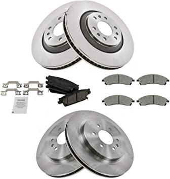 FRONT CERAMIC BRAKE PADS FOR CADILLAC SRX 2004 2005 2006 2007 2008 2009