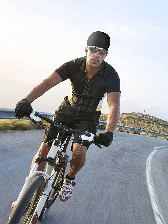 3 Piezas Bandana Deportiva Transpirable Sirve como Gorro o Gorra para Correr para la Bicicleta la Moto o como pa/ñuelo Utilizar Debajo del Casco BETOY Gorros Pirata de Secado R/ápido