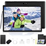10.1 inch Tablet with Keyboard Case Quad-Core Processor, 3 GB RAM, 32 GB Storage, Android 9.0 Go 1280x800 IPS HD Display…