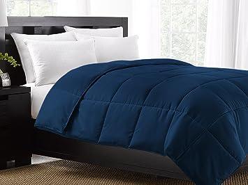 Ella Jayne Home Exquisite Hotel Collection All Season Down Alternative Box  Stitched Duvet Insert Comforter,