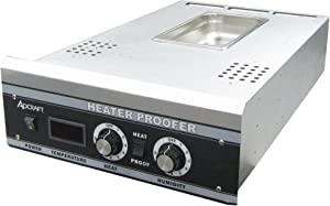 Adcraft PW-120H Heater Proofer Contol Drawer, 80°F to 185°F, Aluminum, 1800w, 120-Volt