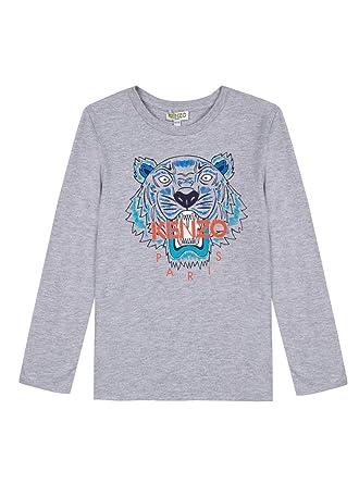 f71c8187c Amazon.com: Kenzo Kids Mens Tiger T-Shirt (Toddler/Little Kids): Clothing