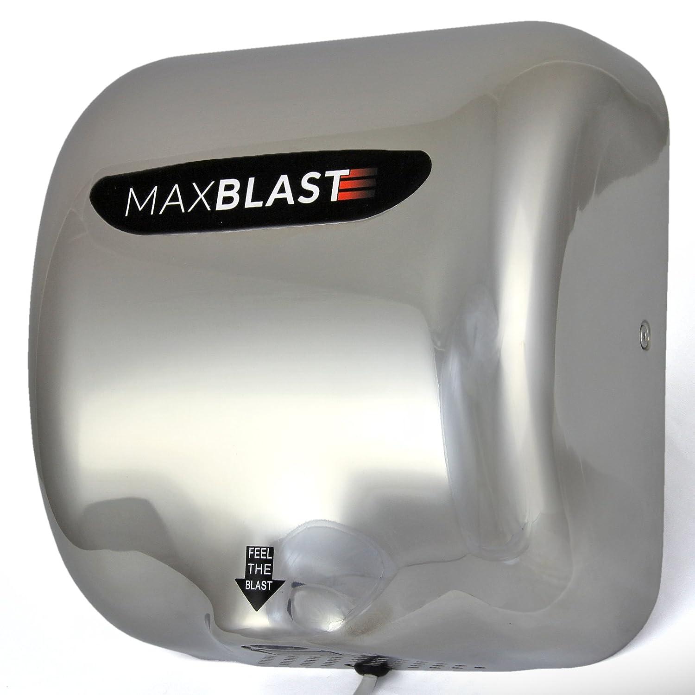 MAXBLAST - Secador de Manos Eléctrico 120 metros/segundo 72db: Amazon.es: Electrónica