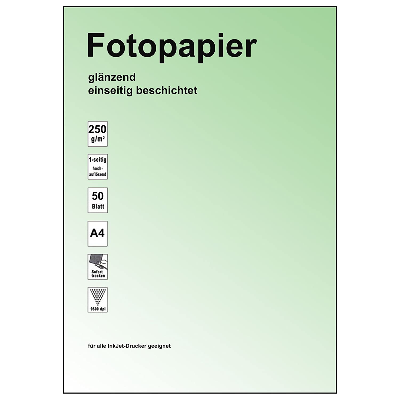 6082 250g A4 Inkjet Papier photo-gl/änzend 50 Blatt