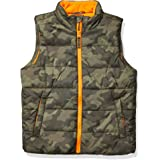 Amazon Essentials Boys' Heavy-Weight Puffer Vests