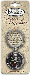 Compass Keychain - Men's Christian Keychain