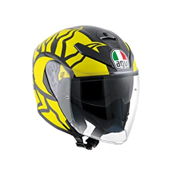 AGV Casco Moto K-5 Jet E2205 Top, rojos Winter Test 2011, ...
