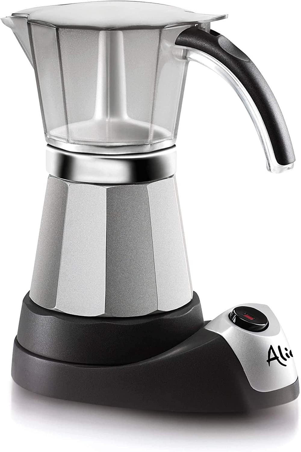 DeLonghi Alicia Electric Moka Coffee Machine EMK6 - Cafetera ...
