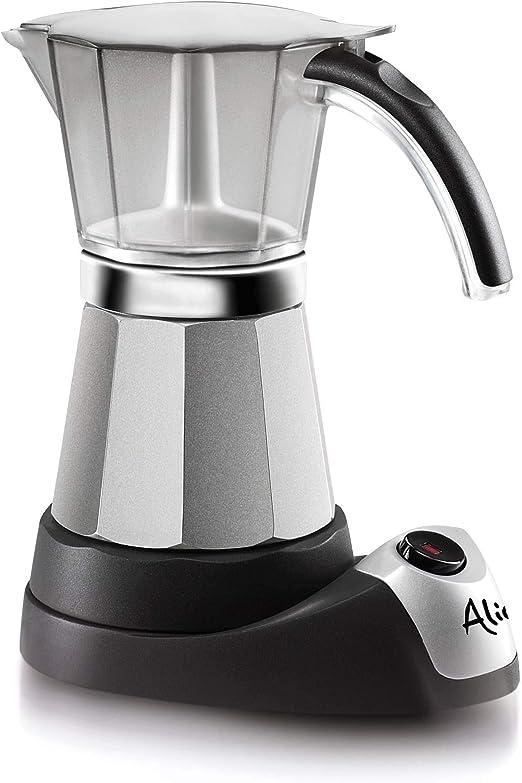 DeLonghi Alicia Electric Moka Coffee Machine EMK6 - Cafetera ...