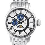 [スバルバル]SVALBAL 腕時計 5BAR N夜光 ムーンフェイズ SV03-MWH メンズ SV03-MWH