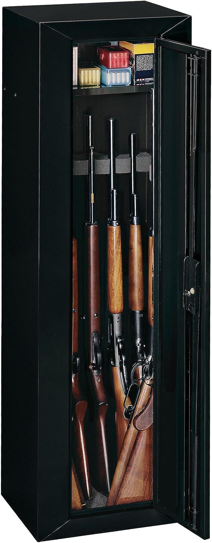 Details about  /GUN SAFE CABINET 10 Rifles Security Storage Locker Shelf Rack Shotgun Pistol NEW