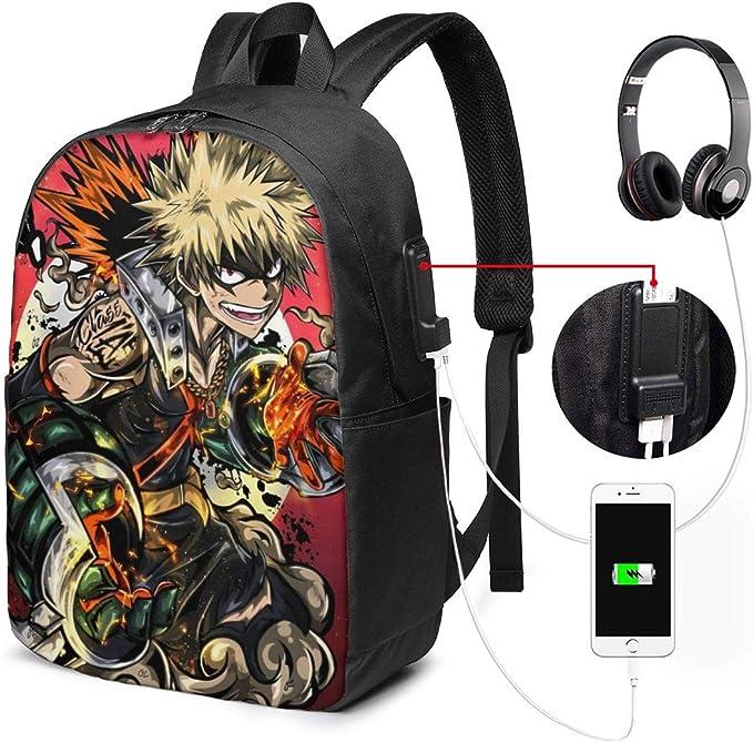 Katsuki Bakugou  My Hero Academia  Boku no Hero Academia  Kacchan  Anime Backpack  Unisex Casual Shoulder Backpack