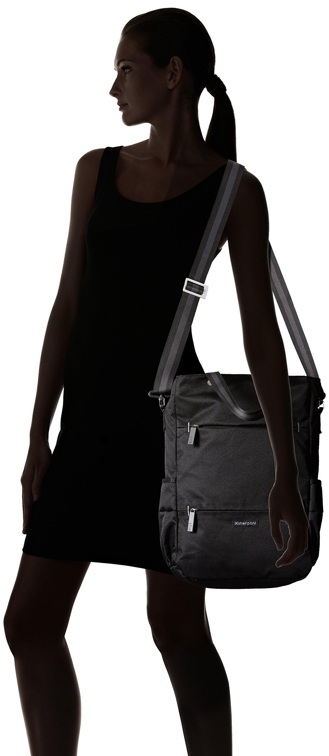 Sherpani Camden Raven Laptop Backpack, Raven by Sherpani (Image #9)