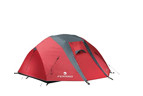 Image Unavailable  sc 1 st  Amazon.in & Ferrino Chaos 3 Tent (Red): Amazon.in: Sports Fitness u0026 Outdoors