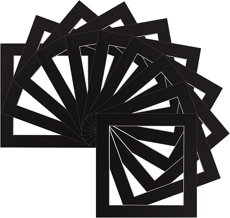 Gr/ö/ße 10,2 x 10,2 cm Rahmengr/ö/ße 17,8 x 17,8 cm elfenbeinfarben f/ür Computer zugeschnitten Instagram Bilderrahmen individuell zugeschnitten quadratisch 3 Farben und 27 Gr/ö/ßen erh/ältlich