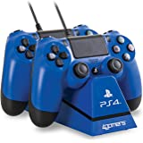 Charge Play and Charge Cables - Blue (PS4)