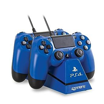 4Gamers - Play&Charge Cargador Doble Para Mando Con Soporte ...