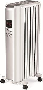 Mainstays Digital Radiator Heater, White, NY1506-18SRA