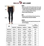 BALEAF Women's Fleece Lined Winter Leggings Thermal Yoga Pants Inner Pocket Black Size L