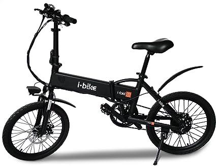 Bici Pieghevole Bfold 7.I Bike I Fold 20 Bicicletta Ripiegabile Elettrica Con Pedalata Assistita Uomo Ruote Da 20 Nero